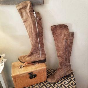 Women's Calvin Klein Suede Boots